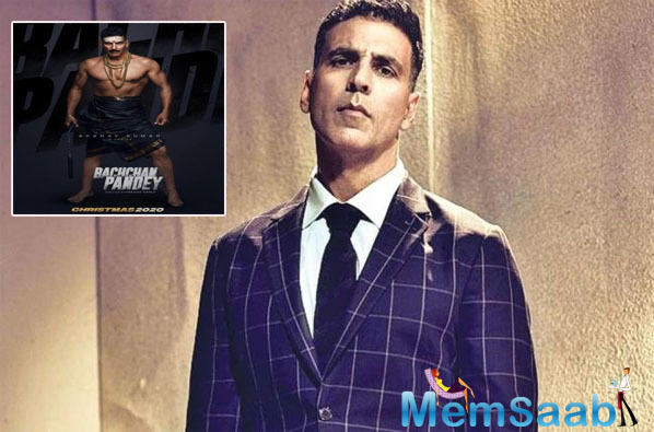 Bachchan Pandey poster out: Akshay Kumar nails the South Indian rowdy look