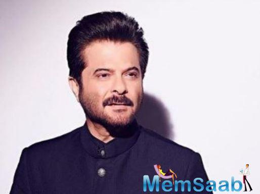 A picture of superstar Anil Kapoor had the caption,