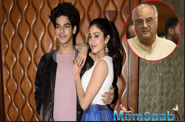 Are Janhvi Kapoor & Ishaan Khatter dating? Father Boney Kapoor finally responds!