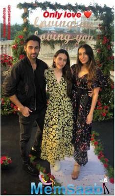 Did Karisma Kapoor's cousin Armaan Jain proposes to Anissa Malhotra?