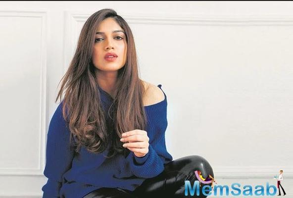 I try celebrating my flaws: Bhumi Pednekar