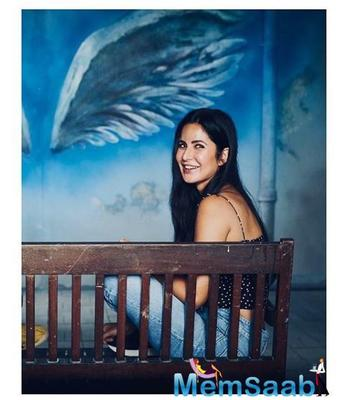 Today, Katrina Kaif took to her Instagram page to share a stunning photo.