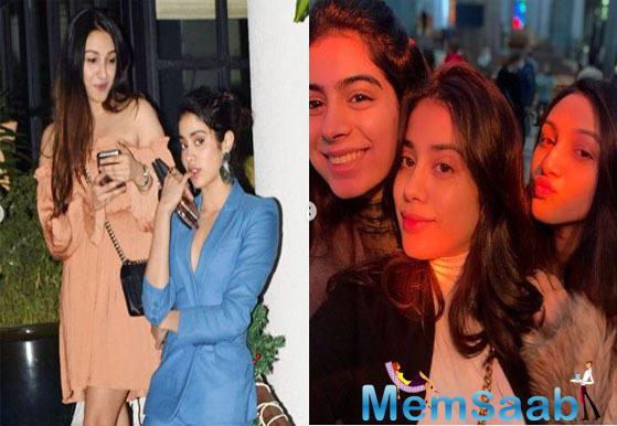 Janhvi Kapoor wishes BFF Tanisha Santoshi on her birthday with adorable throwback pics featuring Khushi Kapoor