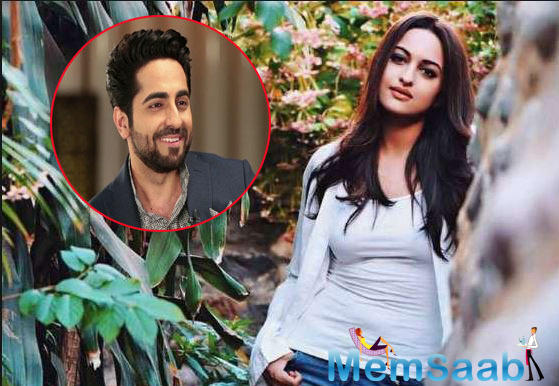 Sonakshi Sinha: Ayushmann Khurrana is the flag bearer of films on sex-related subjects in Bollywood