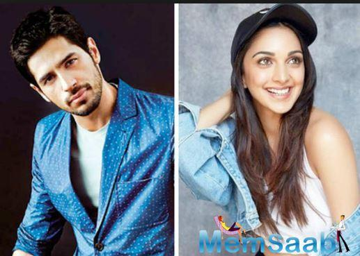 Hook-up with Kiara on Sidharth Malhotra's mind