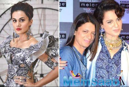 Tapsee Pannu's war with Kangana Ranaut intensifies