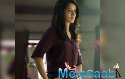 When asked as to how she went from urban glam-girl to straight-faced crime branch cop, Amritha Nair, in Saaho.