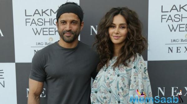 Farhan Akhtar, Shibani Dandekar to walk for Payal Singhal at Lakme Fashion Week 2019