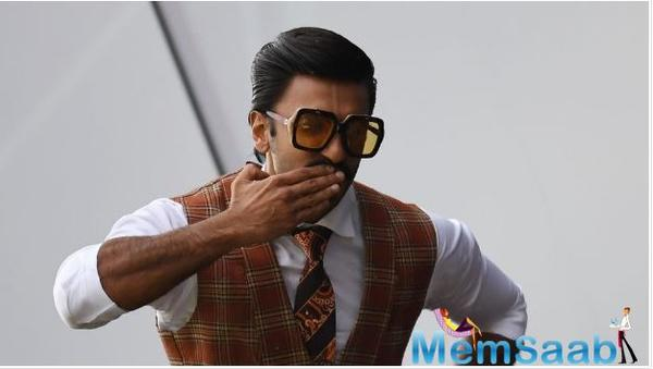 Ranveer says he would love to be a thought leader of the country and for his industry.