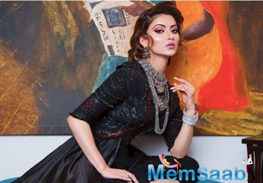 A surprise awaits Urvashi Rautela on knitting a 20 million family on Insta, planned by Yashraj Rautela