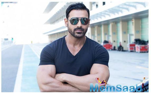 Switching gears from cop-dramas and vigilante action films, John Abraham will be seen in the comedy