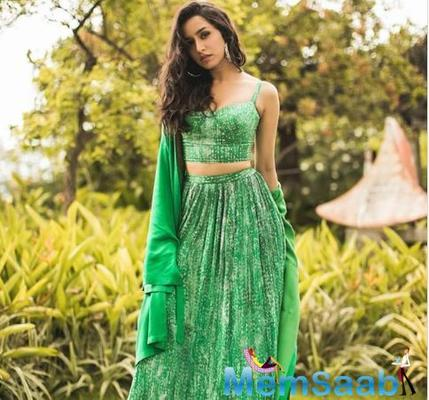 Shraddha Kapoor slays it in her latest emerald green look for Chhichhore promotions