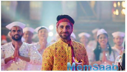 Here are some snip bits of the new upcoming song and both Ayushmann and Nushrat are vibing great in these pictures.