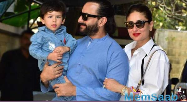 However, now, daddy Saif Ali Khan has put the speculation on rest. While fans were all excited to watch little Tim with Kareena on the silver screen, Saif laughed off all the rumour by saying