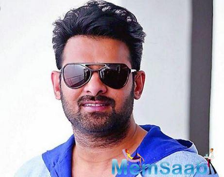 In Jaipur on Tuesday to promote his film, Prabhas, who had come sans the lead actress, recalled the first time he played a romantic hero in a film down south.