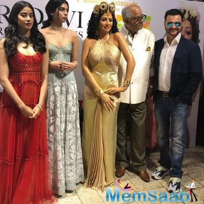 Madame Tussauds Singapore on August 13, on Sridevi's birth anniversary, shared the news on their social media page that they would be creating a wax figure of the late actress.