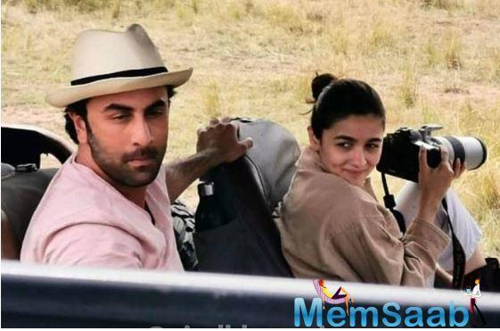 Alia Bhatt and Ranbir Kapoor on a vacation to an Animal Safari in Kenya