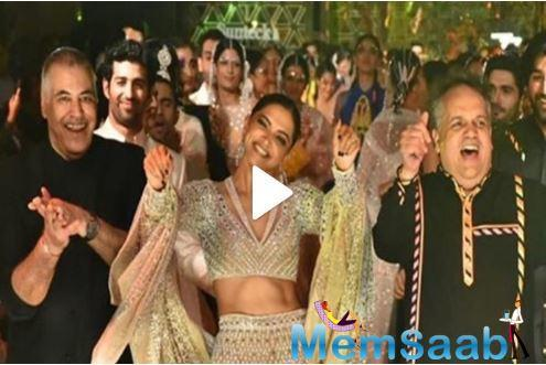 Dance on ramp: Deepika Padukone grooves with Abu Jani-Sandeep Khosla at fashion show