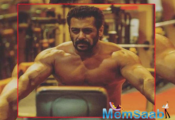 In May, Sudeep tweeted that there will be a shirtless fight sequence between him and the Sultan superstar.