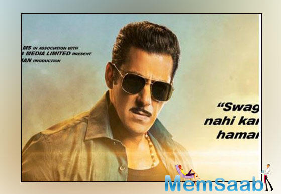 Dabangg is Salman Khan's first movie to be dubbed and released in four different languages and will see the star and Prabhudeva coming together once more after they worked together on Wanted.