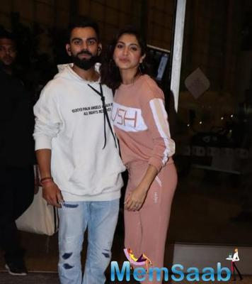 Anushka Sharma and Virat Kohli make for an uber cool couple as they jet off to an undisclosed location