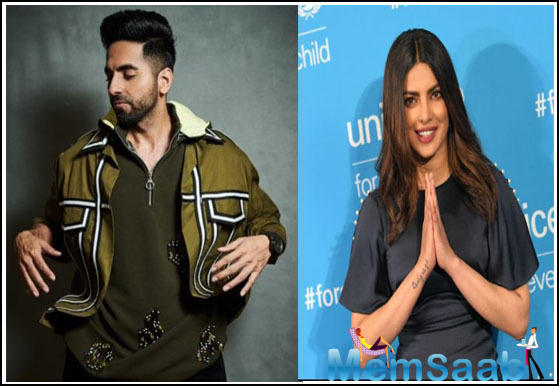 Ayushmann spoke about it in an interview with Times Of India and stated that even though he has dubbed for Pooja and Karamveer, he thinks Priyanka's voice is the best among the actors in Bollywood.