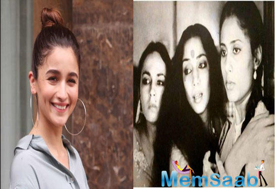 Shabana Azmi shares a throwback picture, mentions how Soni and Alia Bhatt look alike