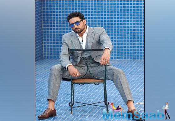 Abhishek Bachchan on Monday started filming his next,