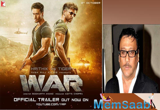 Jackie Shroff is excited about Hrithik Roshan and Tiger Shroff's 'War'