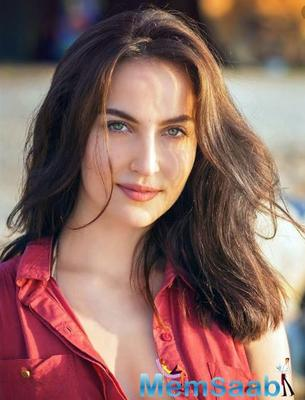 Elli AvrRam plays Sylvia Nanavati in the ALTBalaji web series, The Verdict