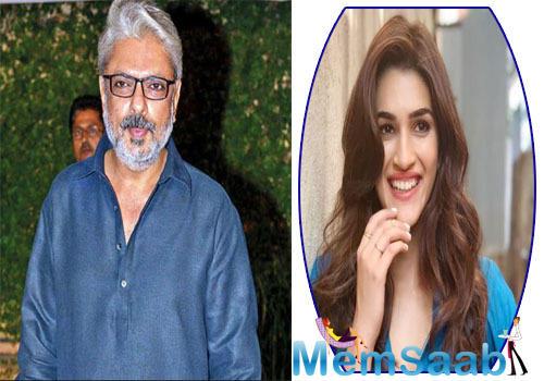 Will Kriti Sanon star in Sanjay Leela Bhansali's next production?