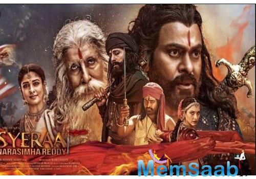 Farhan Akhtar is presenting the Hindi version of the period drama, Sye Raa Narasimha Reddy