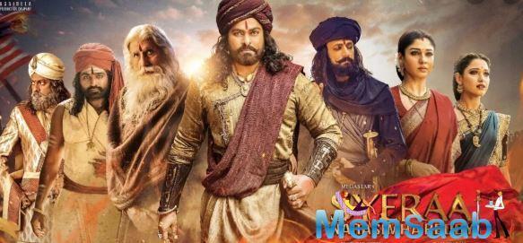 'Sye Raa Narasimha Reddy' trailer: Chiranjeevi starrer patriotic drama will surely give you goosebumps