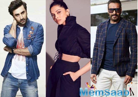 Deepika Padukone to be paired opposite Ajay Devgn and not Ranbir Kapoor in Luv Ranjan's next?