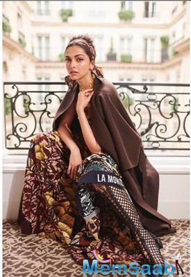 Deepika Padukone ends up being the only indian actress in BoF 500 list
