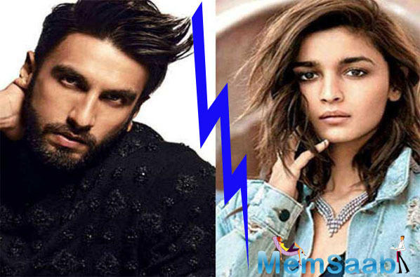 Here's why Alia Bhatt is miffed with 'Gully Boy' co-star Ranveer Singh
