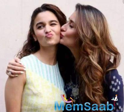 Recently, Alia opened up about Kareena Kapoor at an event. Speaking about her liking for the actress, Alia reportedly stated that she has always been vocal about the love she has for Kareena.