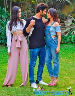 October 15 was all about Pati Patni Aur Woh as they started releasing the character posters of Kartik Aaryan as the Pati ChintuTyagi, Bhumi Pednekar as the Patni- Vedika Tripathi and Ananya Panday as the Woh- Tapasya.