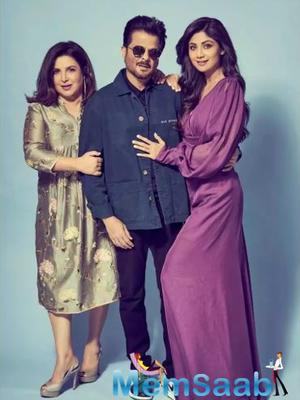 THIS picture of Shilpa Shetty, Farah Khan and Anil Kapoor will make your day!