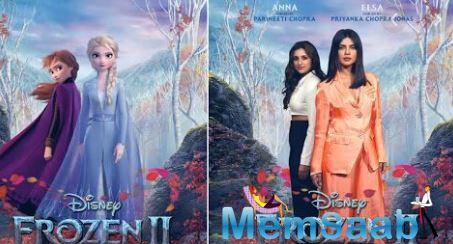 Priyanka Chopra Jonas and Parineeti Chopra to lend their voice to the Hindi version of Elsa and Anna in 'Frozen 2'