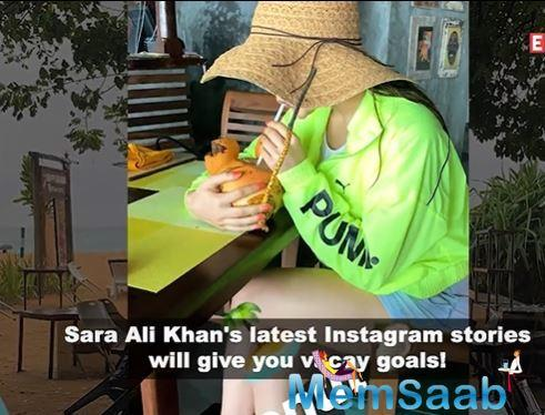 Sara Ali Khan's vacation pictures from Sri Lanka will make you pack your bags!