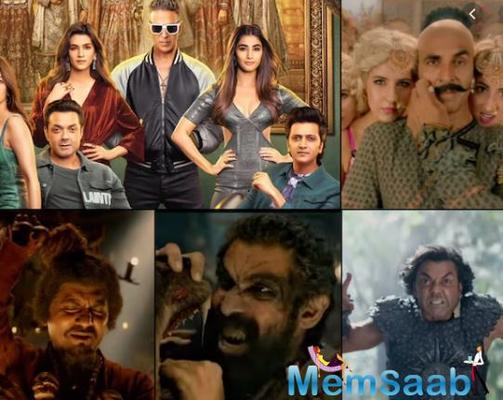 Akshay Kumar reveals Rana Daggubati's look in Housefull 4
