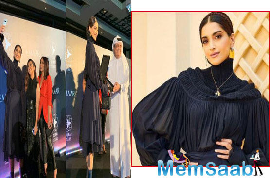 Meanwhile, Sonam says it is an honour to be given a Dubai Star.