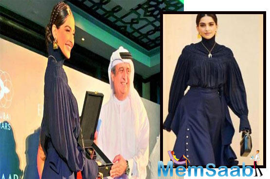 Sonam is the second Bollywood star after SRK to be given this honour, which is akin to the Hollywood Walk of Fame, celebrating people from the entertainment and sports fraternities who have stamped their presence in the said fields.