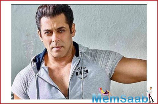 Salman attended the event with