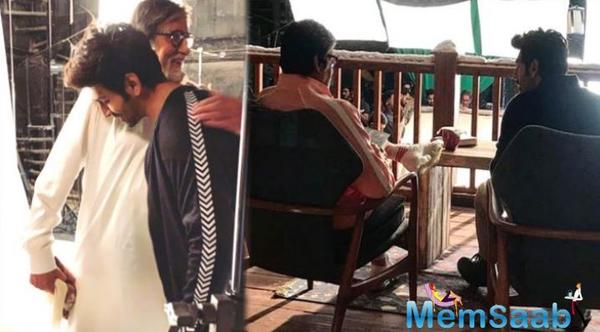 Kartik Aaryan shares his experience of working with Amitabh Bachchan you cannot miss it!