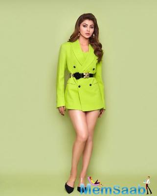 A club in Goa has introduced a strong zingy drink in the name of actress Urvashi Rautela.