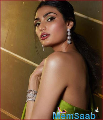Athiya Shetty says she took time off after her first two films to improve her craft, as she wants to be a part of movies that help her