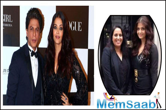 Aishwarya rescued her manager from fire incident and not SRK?