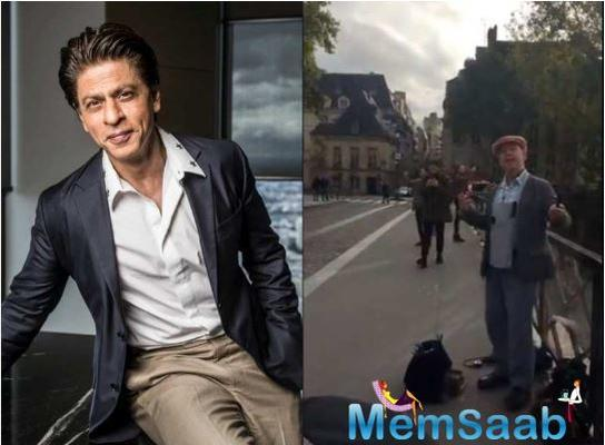 Shah Rukh Khan gets nostalgic after watching a Parisian fan sing DDLJ song 'Tujhe Dekha Toh'